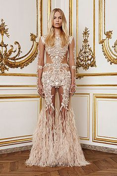 Givenchy's homage to Schiaparelli's Skeleton Dress misses the mark...  LOOK AT MY V. LOOK AT IT!!