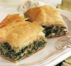 Recipe: Greek Spinach and Cheese Pie (Spanakopita, Joy of Cooking, with photos) - Recipelink.com