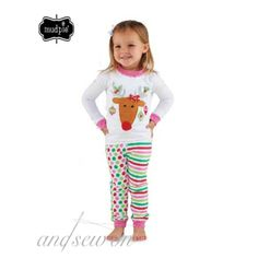 Mud Pie Reindeer Lounge Set -  Don't miss our Facebook sale tonight at 8:30 p.m. central!  www.facebook.com/andsewonBCS
