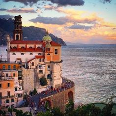 The Amalfi Coast is calling. Tag who you'd take with you to explore the teeny-tiny backstreets of #Atrani! Photo by @samantha_t. Thanks for tagging #travelzoo! #AmalfiCoast #Italy #wanderlust #travelbucketlist #daydream #travel