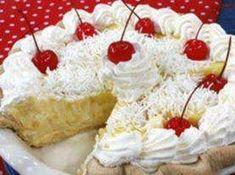 No-bake Coconut pie