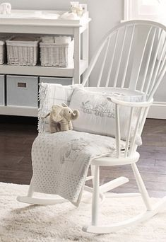 Incroyable Buy Lookbooks U003e Home U003e Ercol Rocking Chair   White From The White Company |  Babies | Pinterest | White Company, Ercol Furniture And Lack Coffee Table