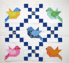 Barn Quilt Patterns, Patchwork Quilt Patterns, Paper Piecing Patterns, Colchas Quilting, Quilting Projects, Quilting Designs, Small Quilt Projects, Small Quilts, Mini Quilts