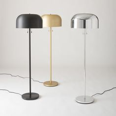 Donna Floor Lamp - Gold Anodized | Schoolhouse Electric #Lamps