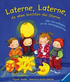Laterne, Laterne, da oben leuchten die Sterne - lovely board book with story and song for Martinstag. Out of print.