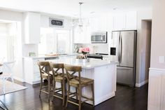 Kitchen Remodel On A Budget For Under $10,000   WHITE KITCHEN REMODEL   SUBWAY TILE   MARBLE COUNTERTOPS   QUARTZ COUNTERTOPS   KITCHEN REMODEL