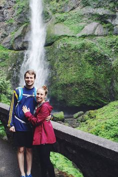 Multnomah Falls: of one of 3 must-see waterfalls outside of Portland!