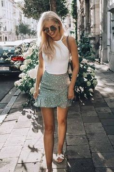 Trendy Summer Outfits, Cute Casual Outfits, Summer Dresses, Winter Dresses, Summer Outfits For Vacation, Boho Spring Outfits, Summer Skirt Outfits, Holiday Outfits For Teens, Crazy Outfits