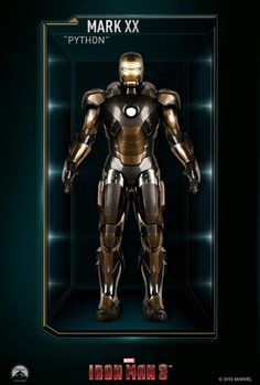 Tony Stark: All Iron Man Suits Gallery
