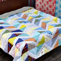 Patch Work Quilt - IV - Quilts