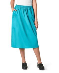 12c59007106 WonderWORK Pull On Cargo Scrub Skirts   Scrubs & Beyond. Scrub SkirtsUniform  ...