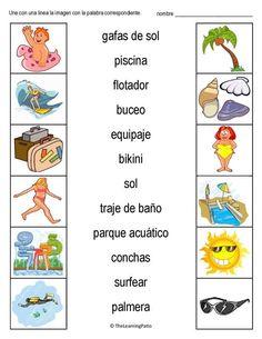 b55c832715 Vocabulario inglés / español para agosto. Únete a nosotros y obtén acceso  completo a 1000 & # 39; s p