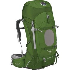 This pack transfers weight wonderfully. Super comfy and user friendly. Adjustable to get the perfect fit and versatile; for weekend trips or longer. Great for overseas travel too. Aether 60 Backpack (Men's) #Osprey at RockCreek.com