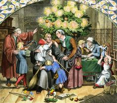 The impact of Luther and the Reformation extended to Christmas. Christkind and Christmas carols: without the Reformation it would have been very different. Martin Luther, Saint Nicholas, Victorian Christmas, Winter Solstice, Christmas Carol, Reformation, Painting, Birth, Bears