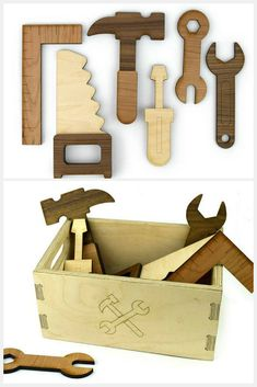 Etsy Gift Guide: 10 handmade wooden toys your kids will love . Etsy Gift Guide: 10 handmade wooden toys your kids will love Wooden Toy Boxes, Making Wooden Toys, Handmade Wooden Toys, Wooden Gifts, Wooden Diy, Etsy Handmade, Wooden Children's Toys, Wood Kids Toys, Wooden Toy Plans