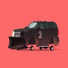 The Greatest Rides by Ido Yehimovitz | Abduzeedo Design Inspiration