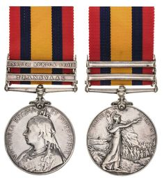 QUEEN'S SOUTH AFRICA MEDAL 1899, (type 3 reverse), - two clasps - Transvaal, South Africa 1901. C.S.Hawkins. Bshvldt:Cbnrs: Impressed and… / MAD on Collections - Browse and find over 10,000 categories of collectables from around the world - antiques, stamps, coins, memorabilia, art, bottles, jewellery, furniture, medals, toys and more at madoncollections.com. Free to view - Free to Register - Visit today. #Medals #Orders&Decorations #MADonCollections #MADonC Cape Colony, Free State, Type 3, Colonial, South Africa, Bottles, Stamps, Coins, Auction