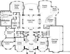 10 000 Square Foot Newport Ca Mansion Main Level Floor Plan House Plans Floor Plans Luxury House Plans