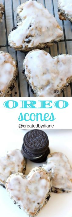 glazed oreo scone recipe @createdbydiane