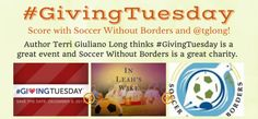 It'll take 1 min and $0 to help me support SoccerWithoutBorders via #GivingTuesday & Thunderclap!