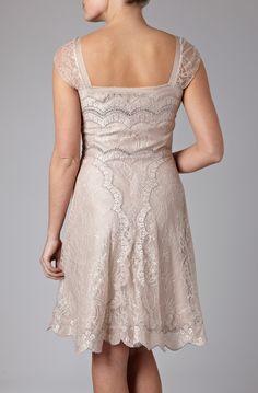 lovely back of dress