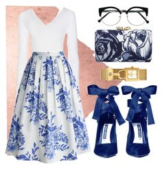 """""""Vinny"""" by hrd0211 ❤ liked on Polyvore featuring WALL, Wolford, Alice + Olivia, Chicwish, Talbots and Tory Burch"""