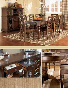 Classic dining style!
