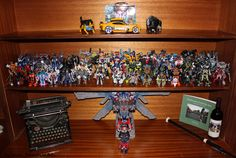 This is my Transformer Collection as of 2013. They're fun and an amazing feat of human engineering... now to actually make them work... :) Troy Patterson - Photography and Media