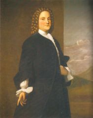 BENJAMIN FRANKLIN INVENTIONS:  Bifocal Carriage Odometer Extension Arm Ferguson's Clock Franklin Stove Glass Armonica Library Chair Lightening Rod Street lights Swim Fins Urinary Catheter that was flexible  (Painting of Young Ben Franklin by Robert Feke)