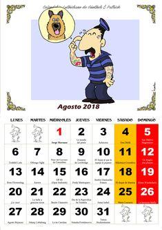 Agosto - Calendario Les Luthiers 2018
