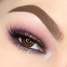 Gorgeous soft hues of  pinks & purples with this look by @maggiemcdonaldmua wearing our #PixieLuxeLashes.