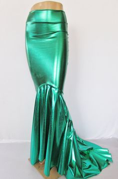 Mermaid Skirt Fish tail costume Stretch by ZanzaDesignsClothing
