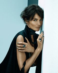 Helena Christensen is the new face of Ole Lynggaard Copenhagen Jewellery Helena Christensen, Beautiful People, Beautiful Women, Original Supermodels, Flavio, Glamour, Mode Inspiration, Role Models, Short Hair Styles