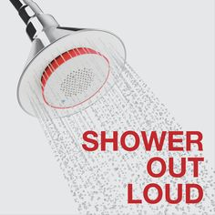 Are you a fan of singing in the shower? Let Kohler help with that. http://www.amazon.com/K-9245-CP-Showerhead-Wireless-Speaker-Polished/dp/B00A46X48A/ref=lp_7705740011_1_2?s=hi&ie=UTF8&qid=1415137289&sr=1-2