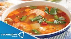 Receta para preparar caldo de camarón. Receta de caldo / Recetas fáciles