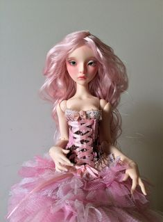Lillycat Cerisedolls - Lilas in pink normal skin