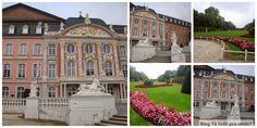 Kurfürstliches Palais - Electoral Palace em Trier - a cidade é uma ótima opção perto de Frankfurt para passar um fim de semana!