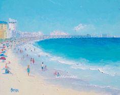 Myrtle Beach South Carolina oil Painting, beach decor, Beach Art, seascape…