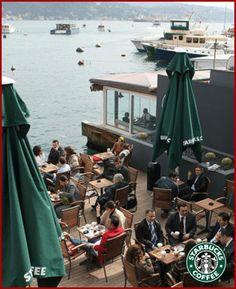 Best Starbucks I've seen so far. Istanbul Bebek.