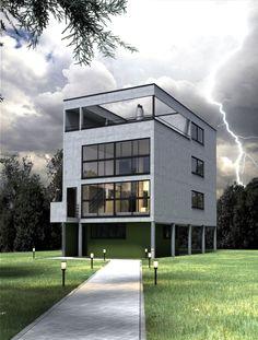 casa citrohan le corbusier - Buscar con Google