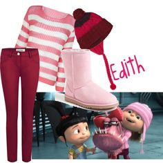 Despicable Me | Edith totally doing this next year!!! Lol
