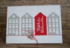 Weihnachtskarte mit Marianne Design