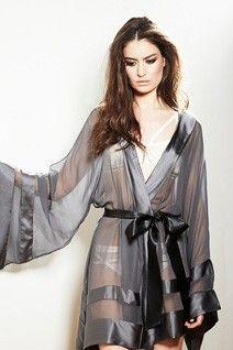 470793de5c Peyton Kimono by Nicole Gill — An absolutly breathtaking kimono made from  sheer silk.