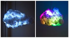 The Cloud Lamp Creates A Thunderstorm Inside Your Bedroom, And It's The Coolest Thing Ever