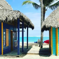 These shops in Punta Cana are so cute!