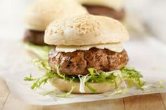 Bison Sliders: Bison is leaner than beef, and 3 ounces are only 150 calories. It also has less saturated fat and is richer in omega-3 fats than grass-fed beef.