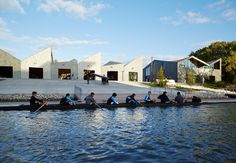 studio gang completes WMS boathouse at clark park, chicago, IL, USA