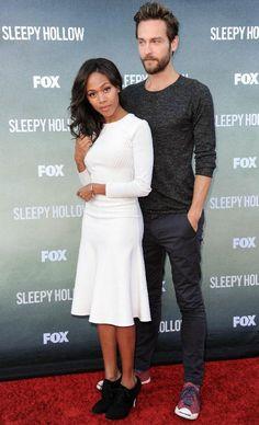Sleepy Hollow(NBC): Nicole Beharie and Tim Mison
