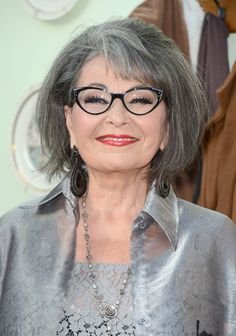 Roseanne Barr. This is the best she has ever looked!