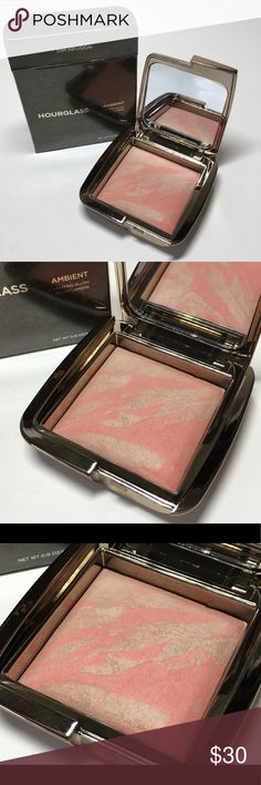 NIB Hourglass Dim Infusion Ambient Lighting Blush NIB Hourglass Cosmetics - Dim Infusion  Ambient Lighting Blush  0.15 Oz  Contents made in Italy 100% Authentic  Please see pictures as this is the actual item you will receive. Please feel free to ask any questions and I will get back to you as soon as possible. Thank you!   Happy Poshing 🛍🎀🛒 Hourglass Makeup Blush